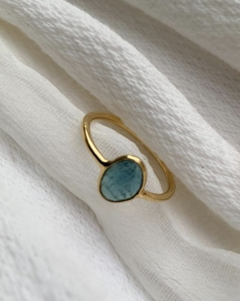 Sophie Deschamps rama tourmaline blue