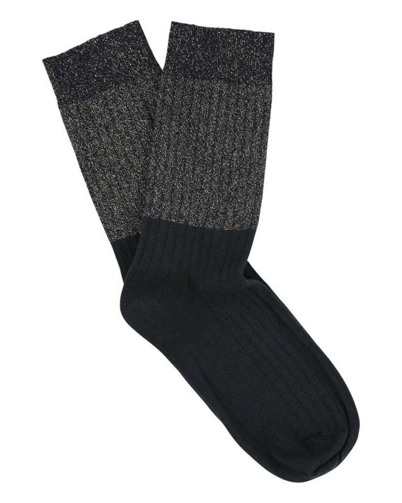 Escuyer lurex block socks