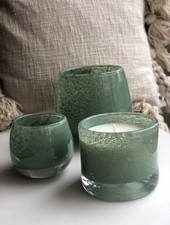 Henry Dean hw cyl 9/10 mineral candle