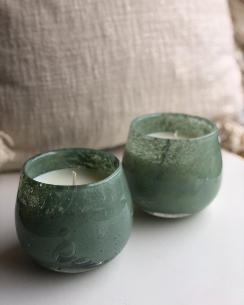 Henry Dean clovis mineral candle
