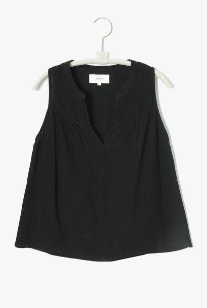 carrie top black