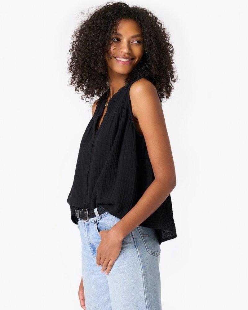 Xirena carrie top black