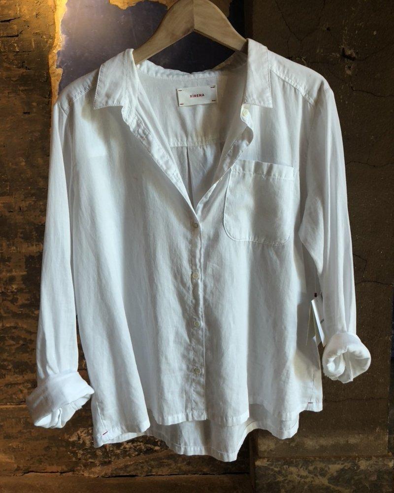 Xirena blaine washed white