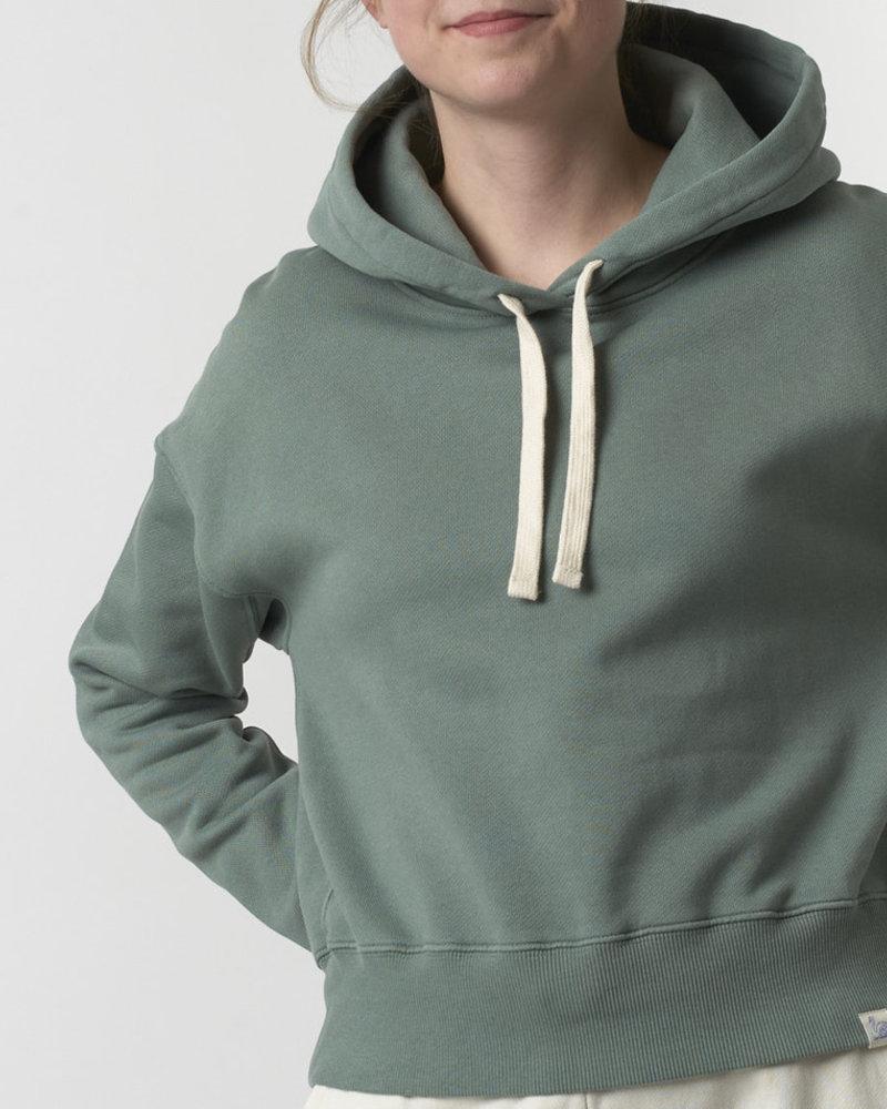 Merz b. Schwanen hoodie light army
