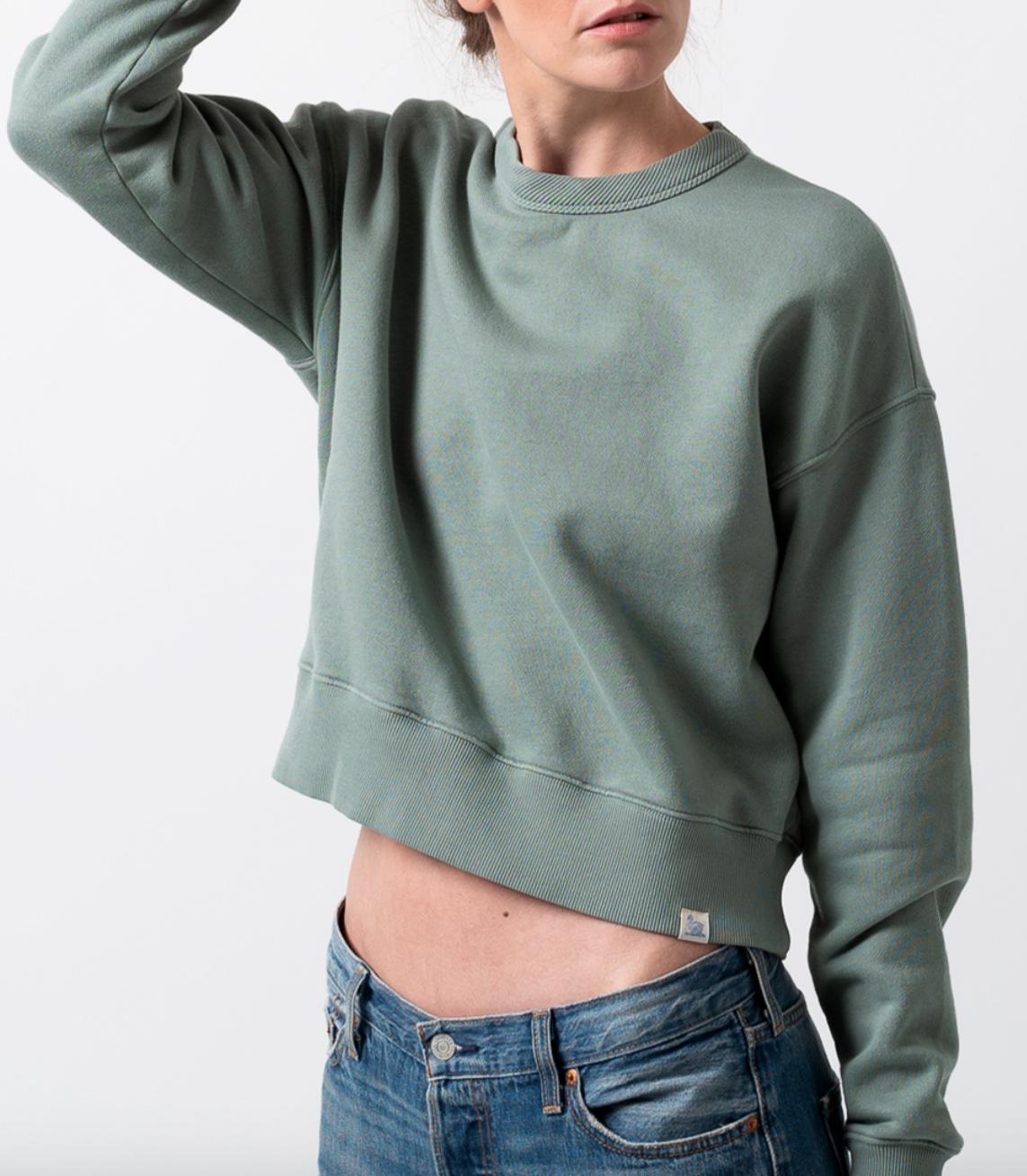 sweatshirt light army-1