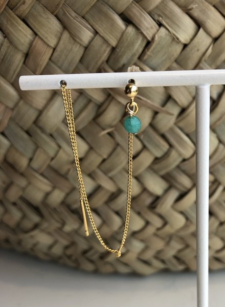 d'Antelle double in turquoise