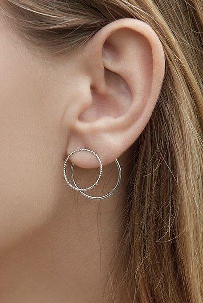 désirs ear cuff silver