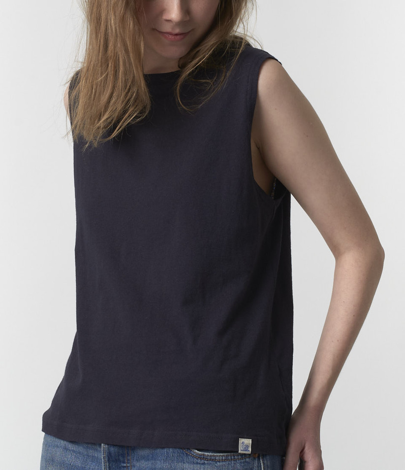 sleeveless t-shirt charcoal-2