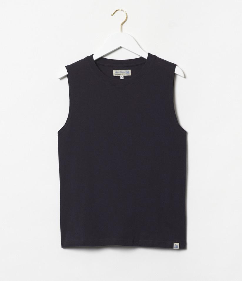 sleeveless t-shirt charcoal-4