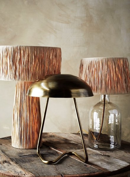 Madam Stoltz iron table lamp