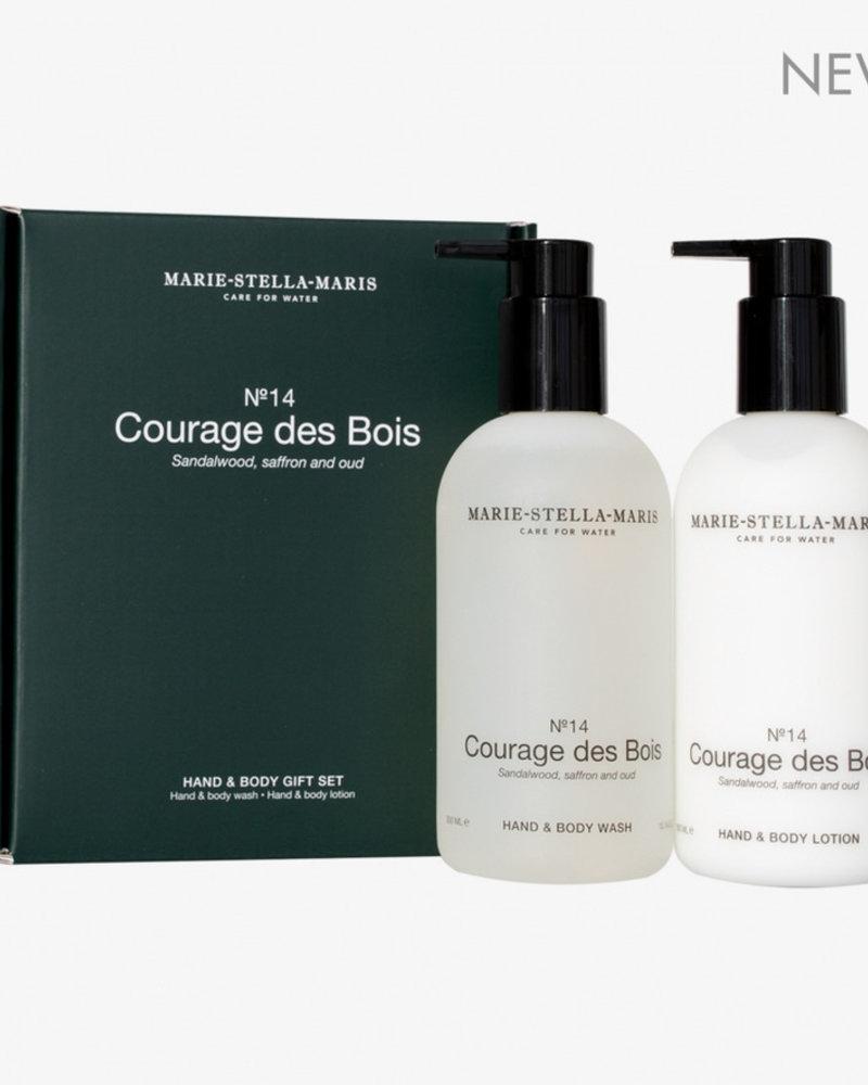 Marie Stella Maris gift set hand & body courage des bois