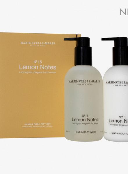Marie Stella Maris gift set hand & body lemon notes