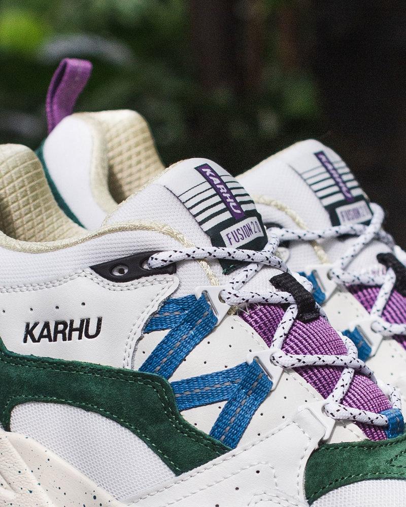 Karhu fusion bright white/blue spruce