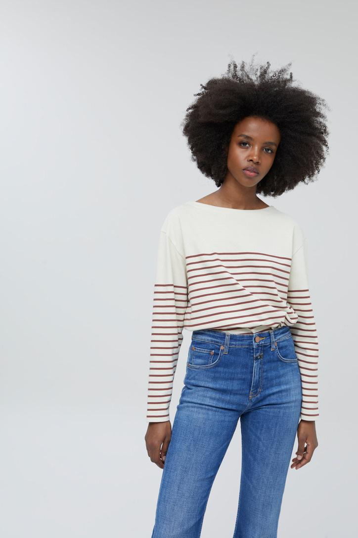 t-shirt stripe plum-2