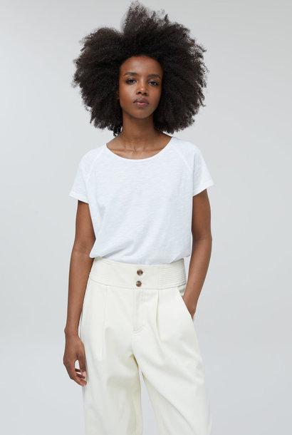 t-shirt km white