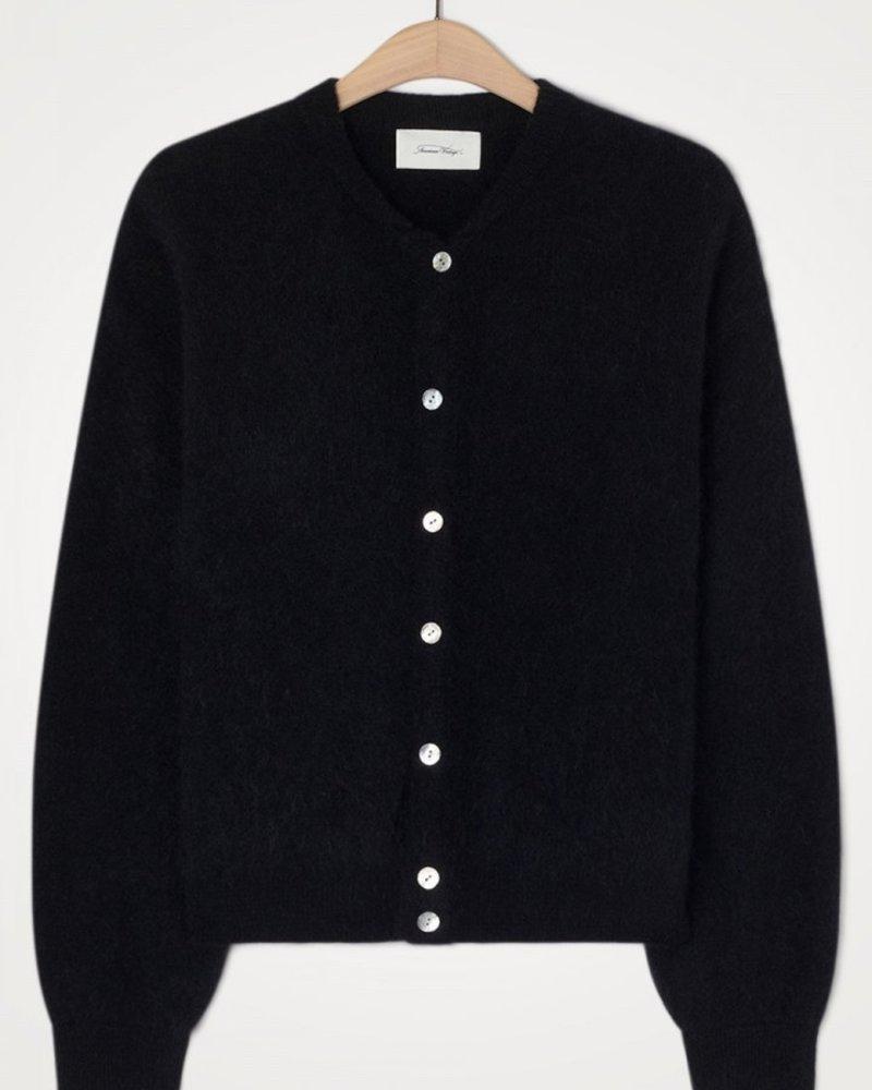 American Vintage gilet black
