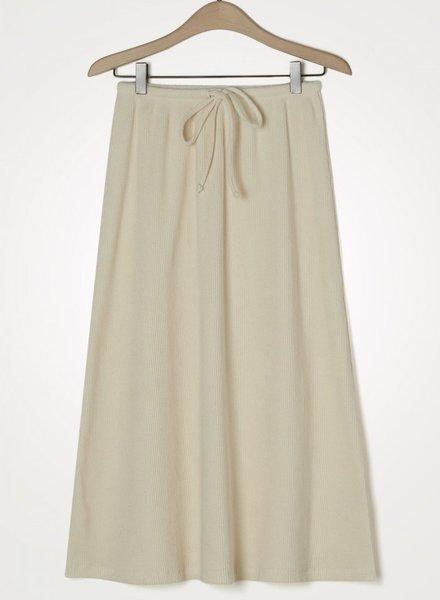 American Vintage skirt ecru
