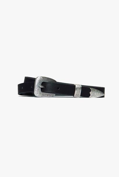 austin belt black