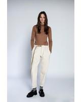White Sand pantalon jogging denim