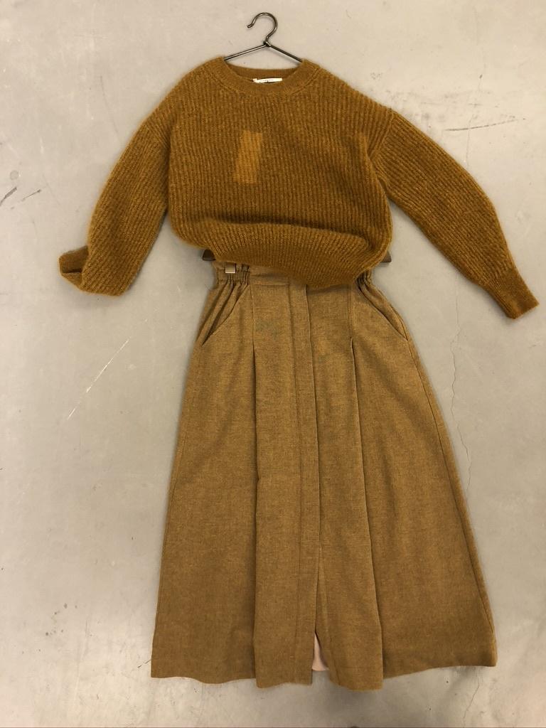skirt 1163 ocre-1