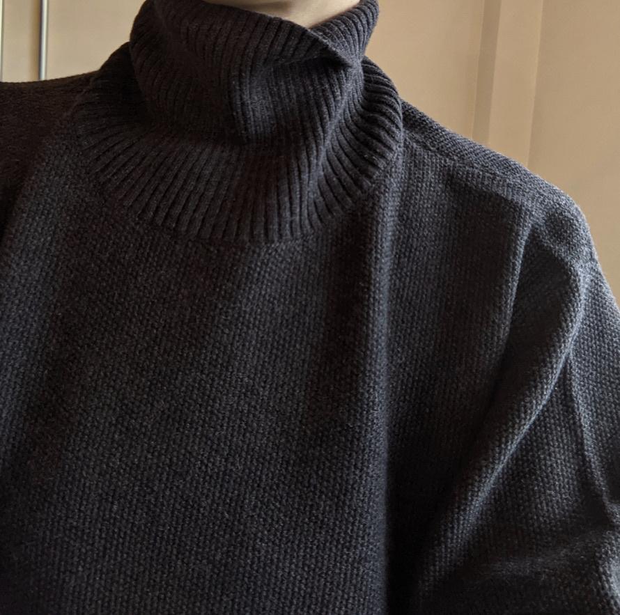 high neck pull grey-1