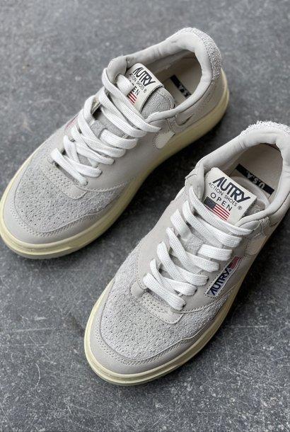 autry mid open white/grey