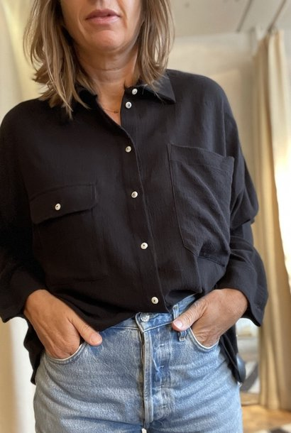 beziers shirt black