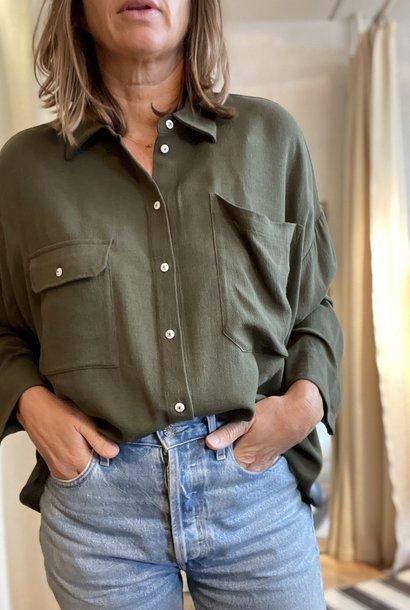 beziers shirt khaki