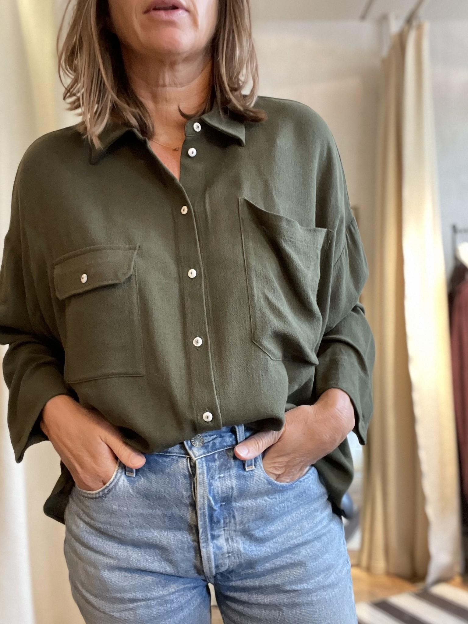 beziers shirt khaki-1