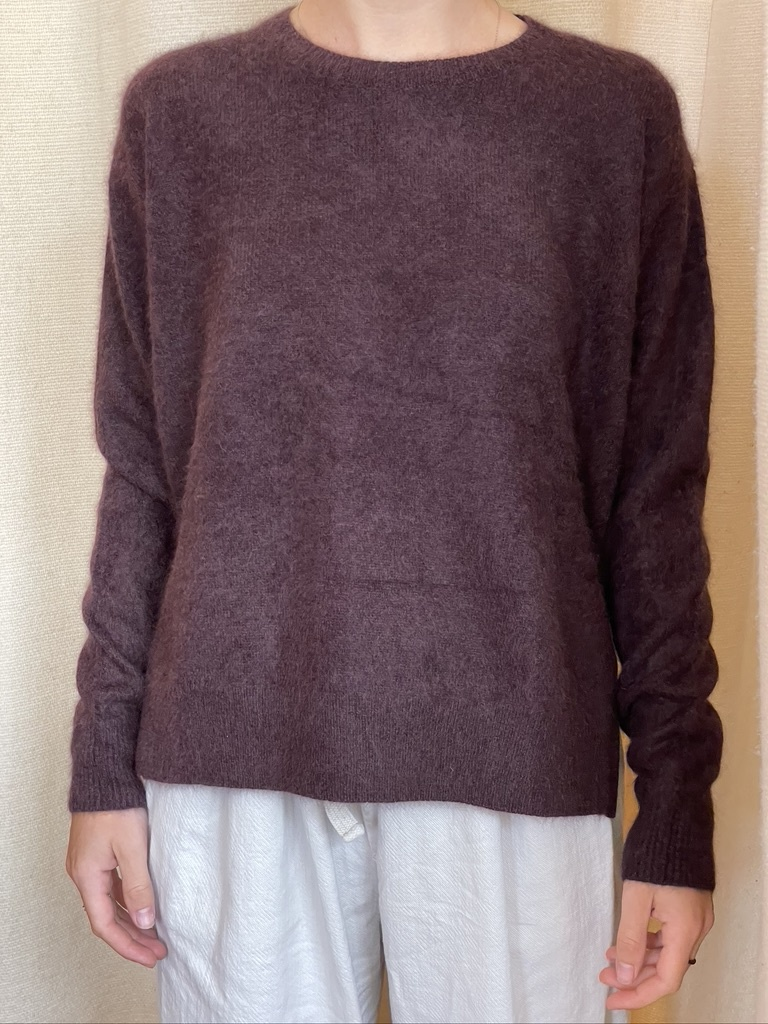 raccoon knit bordeau-1