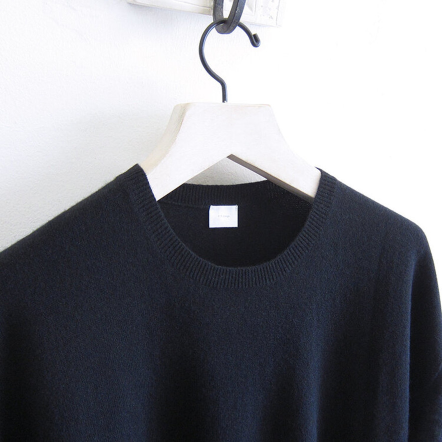 half sleeve knit black-2