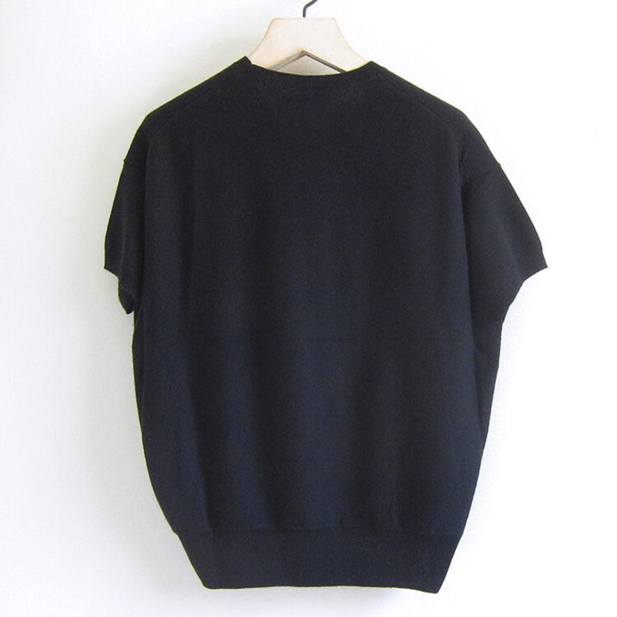 half sleeve knit black-3