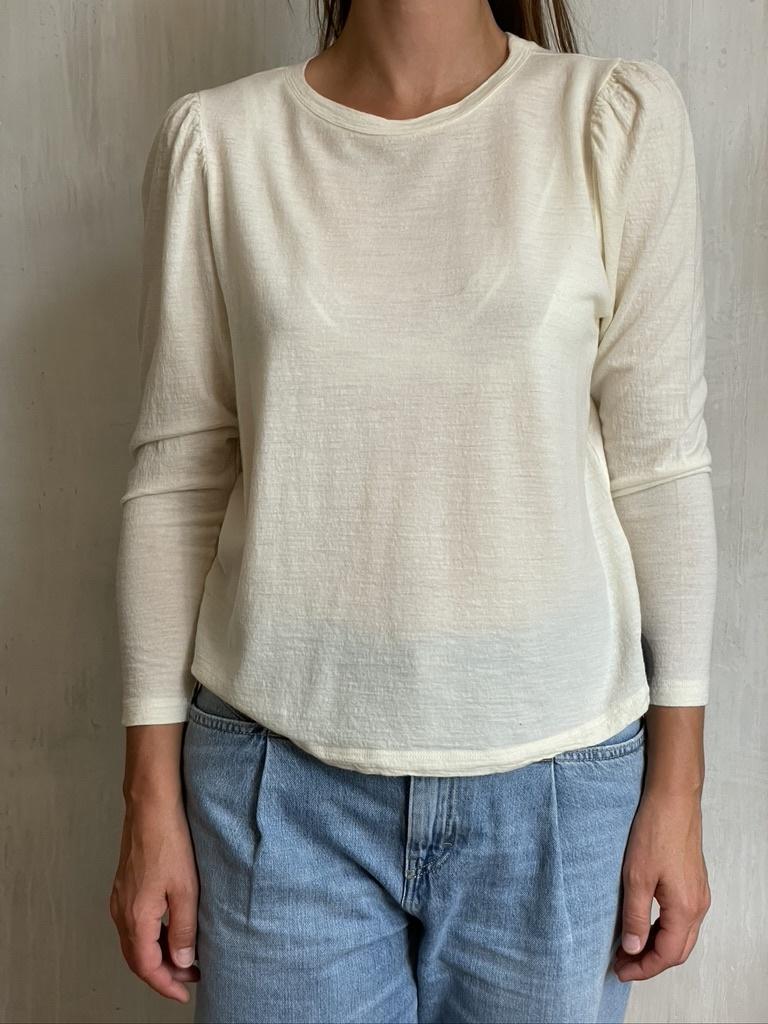 t-shirt d162 butter-1