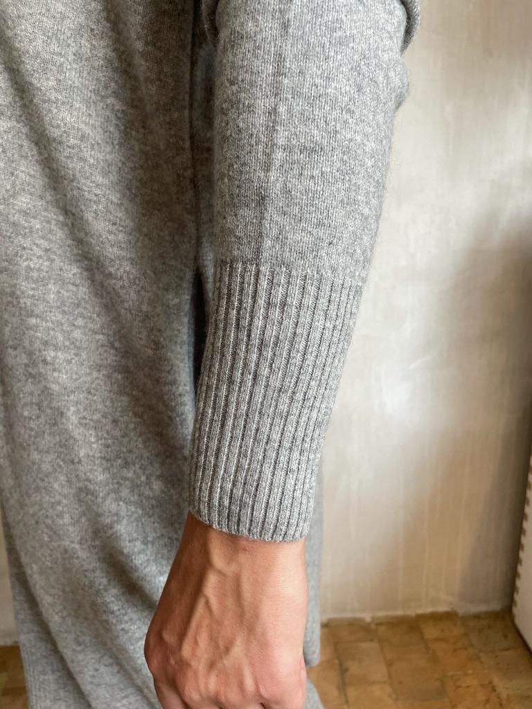 cashmere dress grey-2