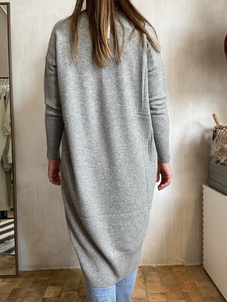 cashmere dress grey-3