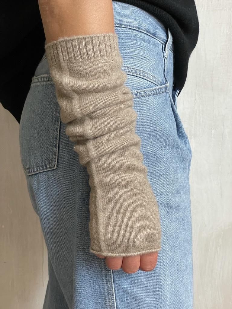 arm warmer beige-1