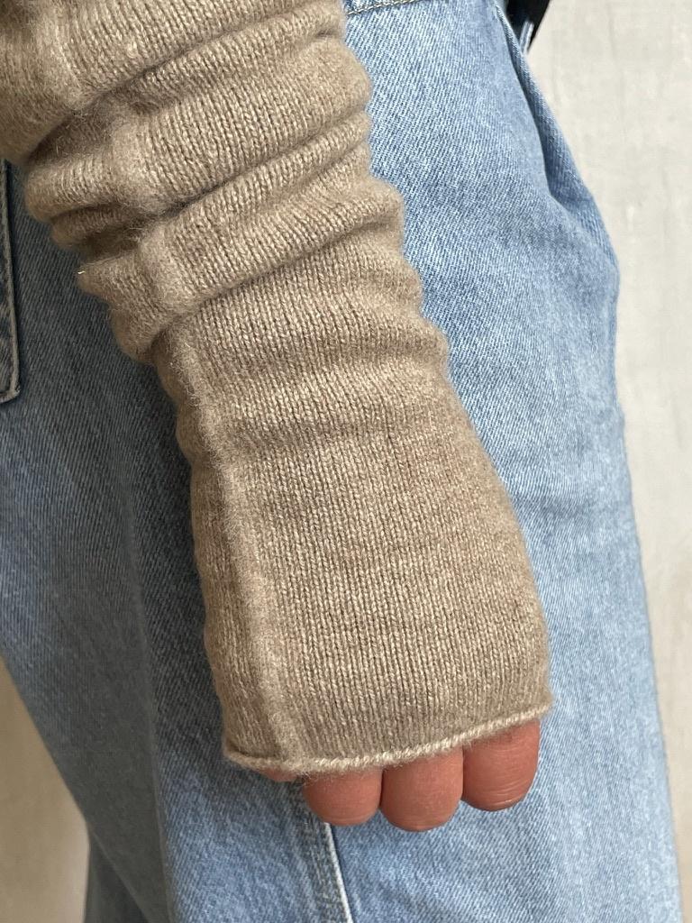 arm warmer beige-3