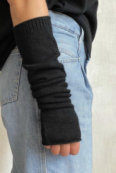 arm warmer black