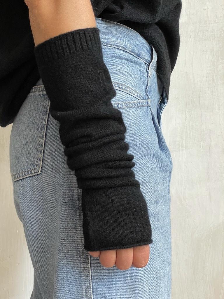 arm warmer black-1