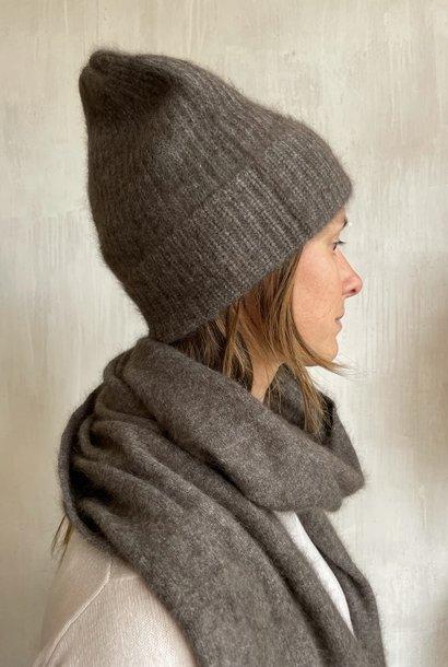 beanie grey/brown
