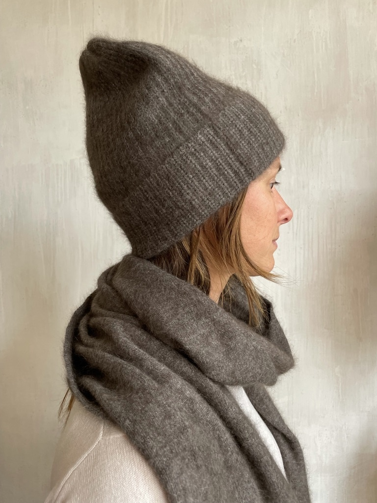 beanie grey/brown-1