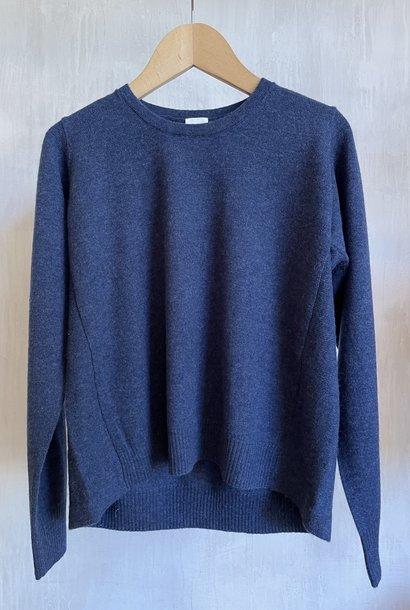 cashmere knit blue