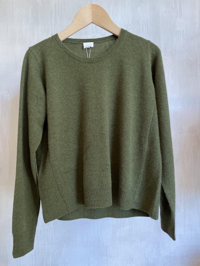cashmere knit khaki-1