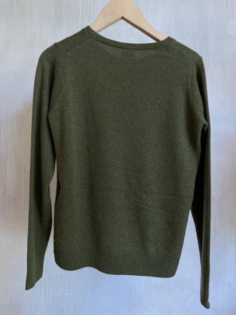 cashmere knit khaki-4