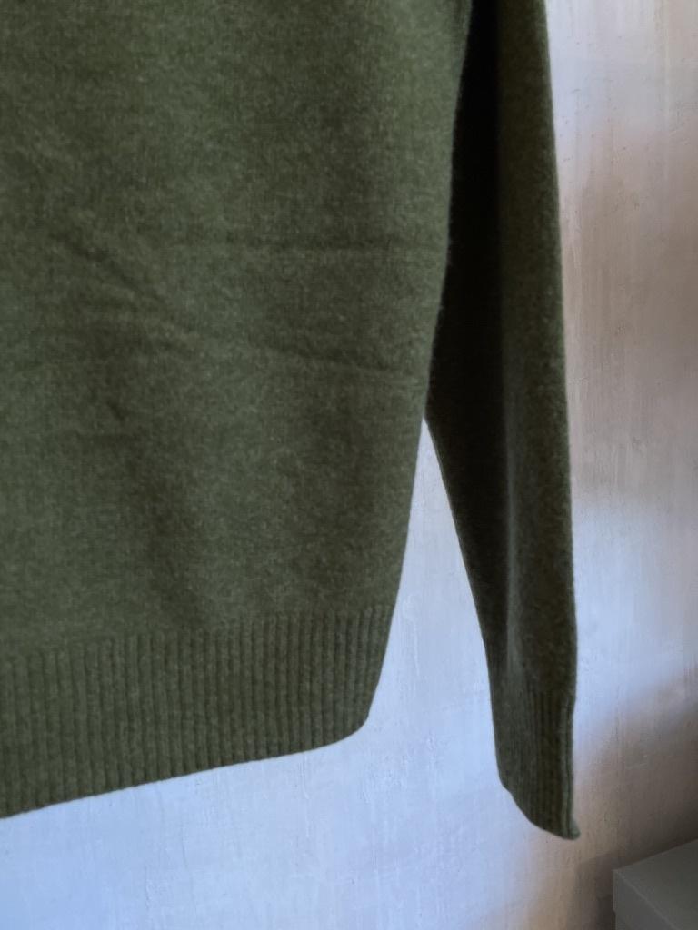 cashmere knit khaki-5