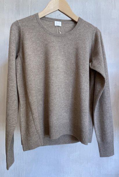 cashmere knit beige