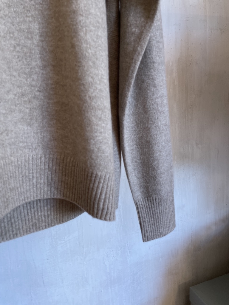 cashmere knit beige-3