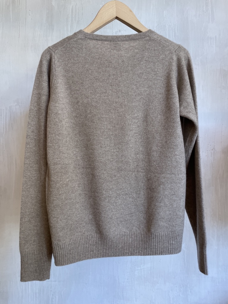 cashmere knit beige-5