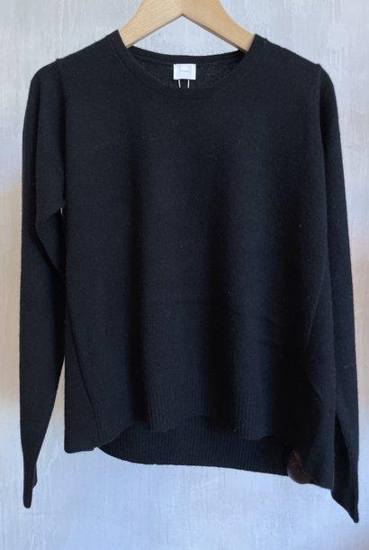 cashmere knit black