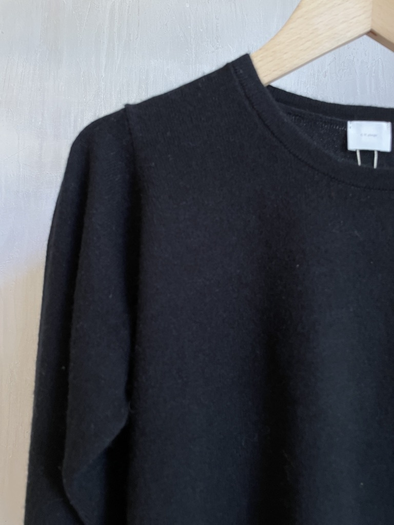 cashmere knit black-3